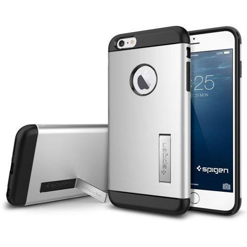Sgp - spigen Oryginalne etui obudowa spigen sgp slim armor satin silver dla iphone 6 plus - satin silver