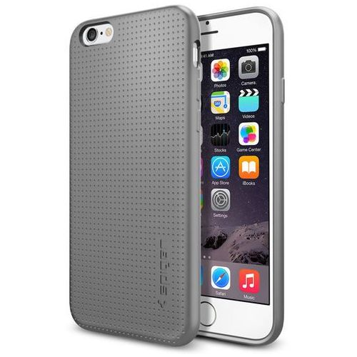Obudowa Spigen Capsule Apple iPhone 6 / 6S Szara - Szary (8809466640872)