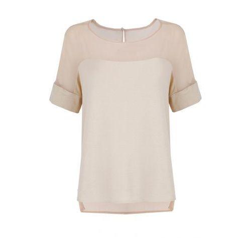 Bluzka (Kolor: beżowy, Rozmiar: 44)