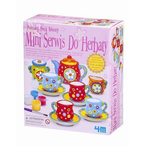 4M, Mini zastawa do herbaty, zestaw kreatywny (4893156045416)