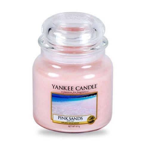 Yankee candle pink sands 411 g świeczka zapachowa