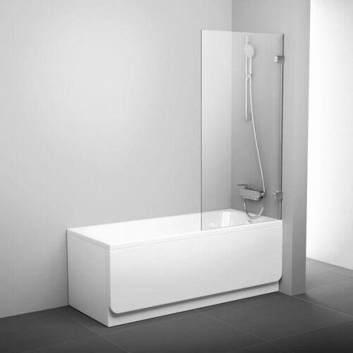 Ravak brillant bvs2-100 l parawan nawannowy 100 cm 2-częściowy lewy szkło transparentne 7ula0a00z1 (8595096894586)