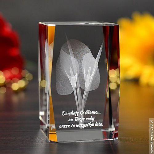 Kalie 3D • personalizowany kryształ 3D • GRAWER 3D GRATIS