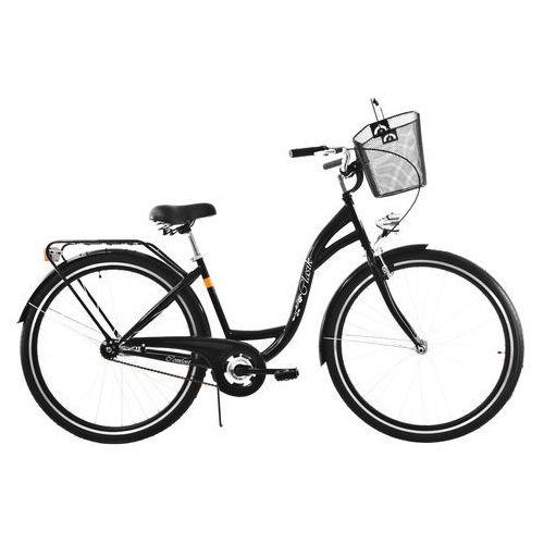 Dawstar Rower DAWSTAR Retro S1B Czarny z koszykiem stalowym + DARMOWY TRANSPORT!