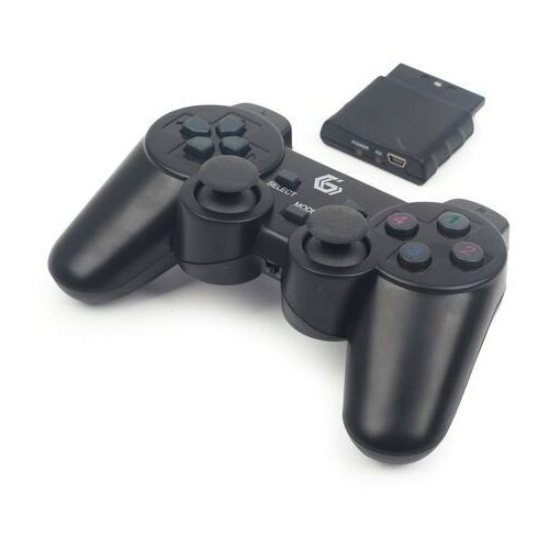 Gembird Gamepad gamepad gembird usb/pc/ps2/ps3 kabellos dualvibr. 10 tasten - jpd-wdv-01 darmowy odbiór w 19 miastach! (8716309087629)
