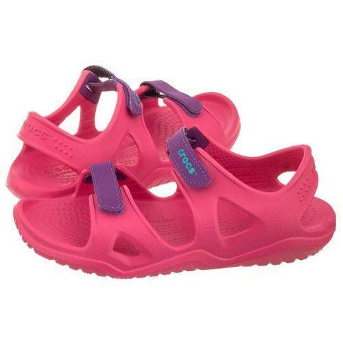 Sandałki swiftwater river sandal k paradise pink 204988-60o (cr150-a) marki Crocs