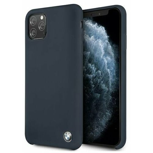 Bmw Etui bmhcn65silna iphone 11 pro max granatowy/navy hardcase silicone signature (3700740462973)
