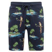 spodnie 'nick aop sweat shorts' granatowy marki Only & sons
