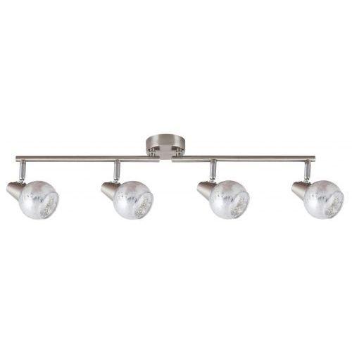 Listwa Rabalux Noelle 5929 lampa sufitowa 4x25W E14 chrom/satyna/srebrny, 5929