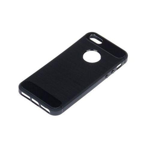Wg Obudowa carbon apple iphone 5 czarny (8591194078927)
