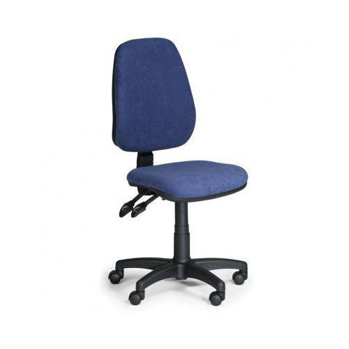 Euroseat Krzesło biurowe alex bez podłokietników - niebieske
