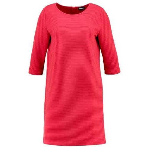 Sukienka z prążkowaną fakturą