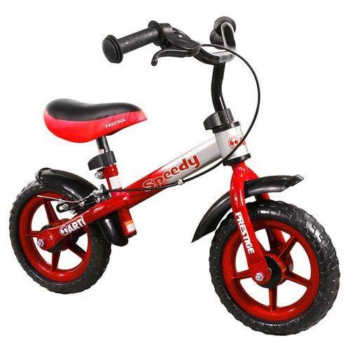 Rowerek biegowy  speedy m /czerwono - srebrny/ marki Arti