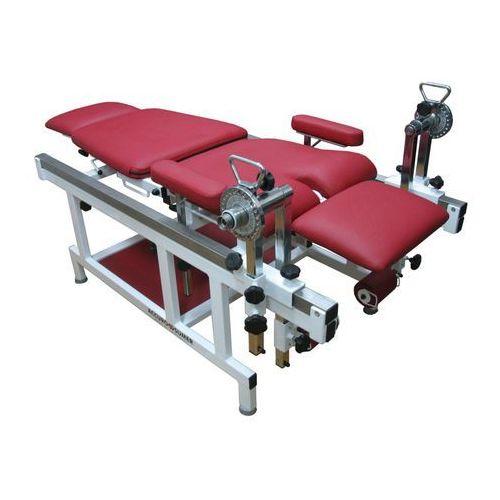 Fotel do ćwiczeń oporowych oraz pomiaru momentów sił mięśni kończyn górnych i dolnych marki Sumer