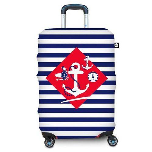 Bg berlin Pokrowiec na walizkę l - navy sense