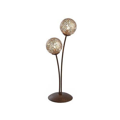 Paul Neuhaus GRETA Lampa stołowa Rudy, 2-punktowe - Dworek/Rustykalny/Antyk - Obszar wewnętrzny - GRETA - Czas dostawy: od 2-4 dni roboczych (4012248291405)