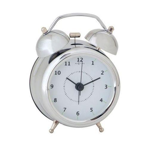 Budzik Wake Up srebrny 9 cm