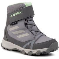 Buty adidas - Terrex Snow Cf Cp Cw K G26580 Grethr/Gretwo/Glogrn