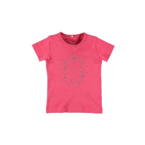 girls bluzka z krótkim rękawkiem nitveen rouge red marki Name it