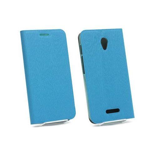 Alcatel POP 4 Plus - etui na telefon Flex Book - niebieski, kolor niebieski