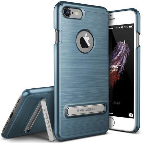 Etui VRS Design Simpli Lite iPhone 7 Steel Blue, kolor Etui