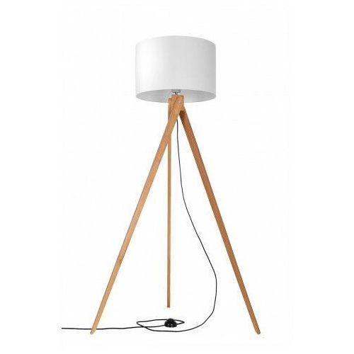 Skandynawska lampa stojąca z drewna - EX575-Legni, sollux_SL.0524
