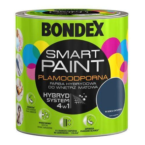 Farba hybrydowa Bondex Smart Paint w sercu oceanu 2 5 l (5904000026211)
