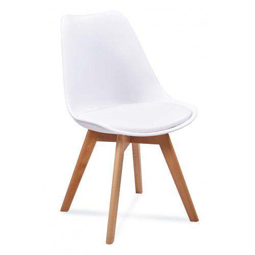 Krzesło Kriss F Biały, Szary, Czarny, Beżowy, Niebieski, NOWY MODEL - WZMOCNIONA KONSTRUKCJA