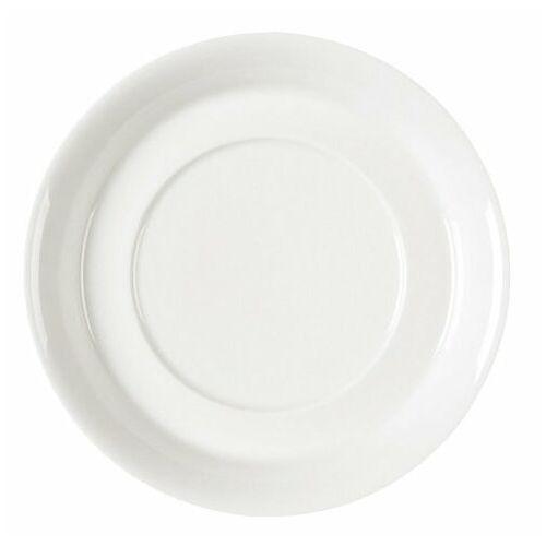 Rak Fine dine spodek pod bulionówkę   porcelanowa