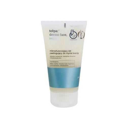 Tołpa Dermo Face Sebio żel oczyszczający z efektem peelingu (Hypoallergenic) 150 ml