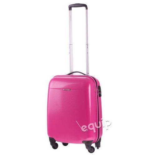 Puccini Walizka kabinowa  pc 005 - różowy, kategoria: torby i walizki
