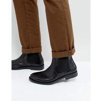 round toe leather chelsea boots - black marki Frank wright