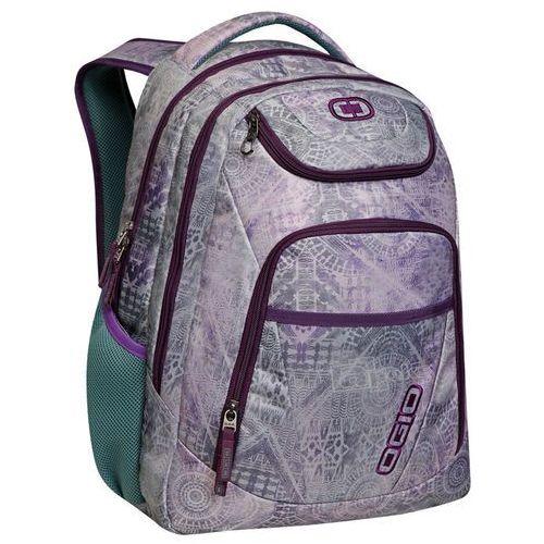 "Ogio Tributante damski plecak na laptopa 17"" / Folk, kolor fioletowy"