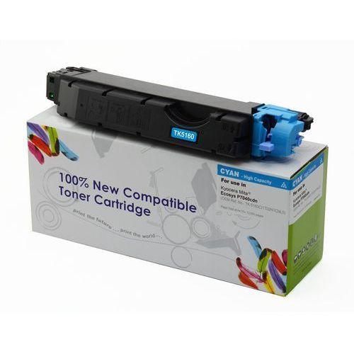 Toner cw-k5160mn magenta do drukarek kyocera (zamiennik kyocera tk-5160m) [12k] marki Cartridge web