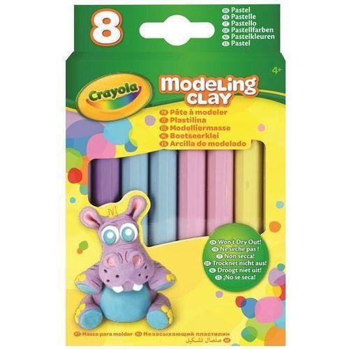 Crayola Plastelina pastelowa 4 kolory