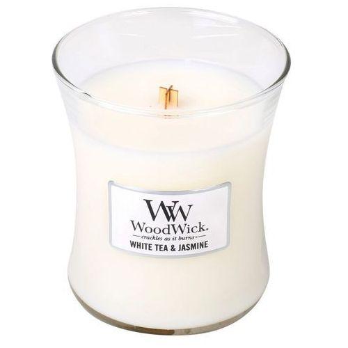 Świeca WoodWick średnia White Tea & Jasmine - 92062E