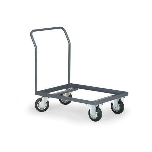 B2b partner Wózek platformowy na euro skrzynki 800x600 mm