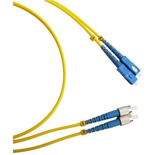 Fc/pc-fc/pc - duplex - 5 meter - 9/125 µm - os1 - fiber patch cable od producenta Dutchfiber