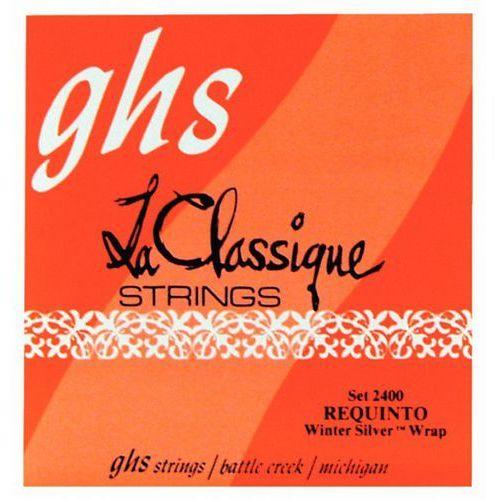 Ghs la classique requinto struny do gitary klasycznej, tie-on, low tension