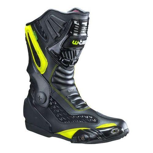 Skórzane buty motocyklowe W-TEC NF-6003, Zielony, 46 (8596084021854)