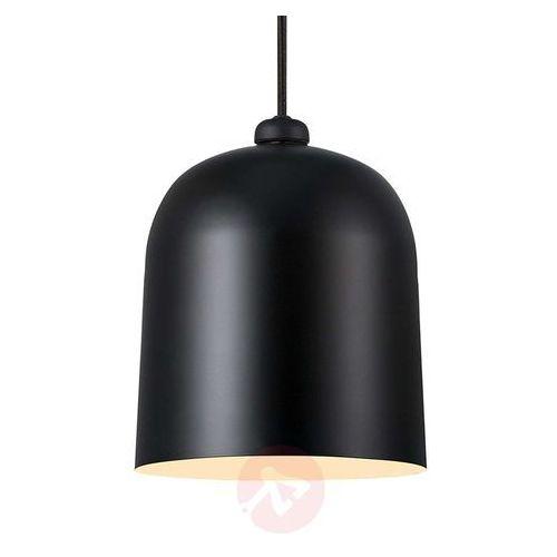 Wisząca LAMPA regulowana ANGLE 48163003 Nordlux DFTP zwis OPRAWA metalowa LED 10W 2200-2700K kopuła czarna (5701581454880)