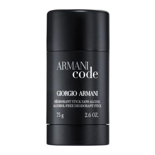 Giorgio Armani Code Pour Homme 75ml dezodorant sztyft [M] UNBOX (3360372115526)