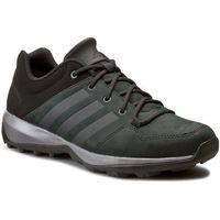 Buty adidas - Daroga Plus Lea B27271 Cblack/Granit/Cblack, kolor zielony