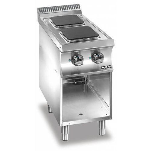 Mbm Kuchnia elektryczna 2 płytowa   5200w
