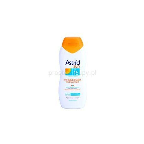 sun nawilżające mleczko do opalania spf 15 + do każdego zamówienia upominek. marki Astrid