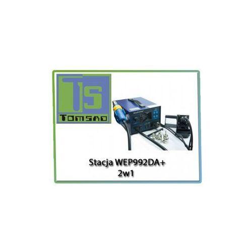 Stacja lutownicza 992da+ 2 w 1 + wyciąg oparów marki Wep