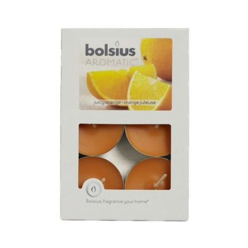 BOLSIUS Podgrzewacz zapachowy pomarańcza 6 sztuk