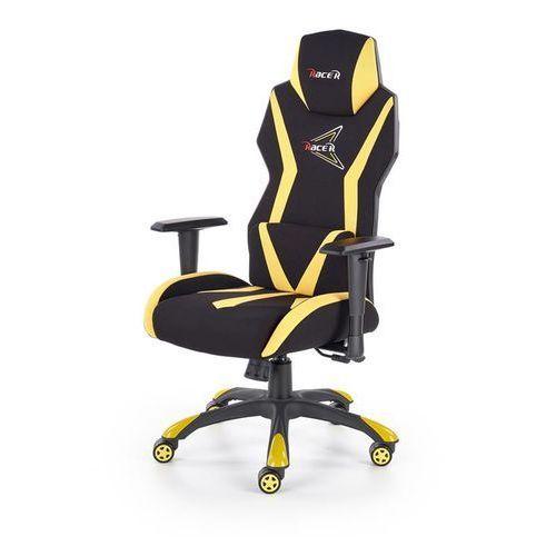 Halmar Fotel dla gracza gamingowy stig czarny/żółty