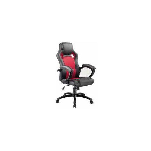 Signal meble Fotel q-107 czarno-czerwony - zadzwoń i złap rabat do -10%! telefon: 601-892-200