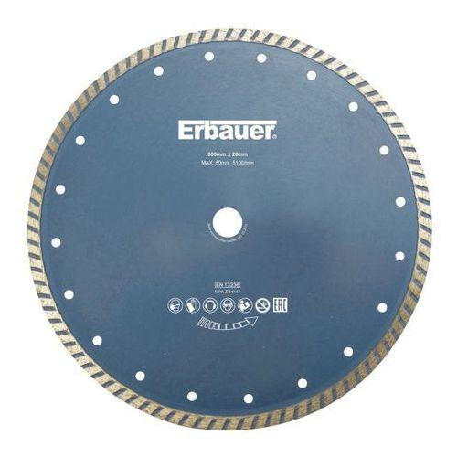 Tarcza diamentowa Erbauer turbo 300 x 20 mm, TWDB0301